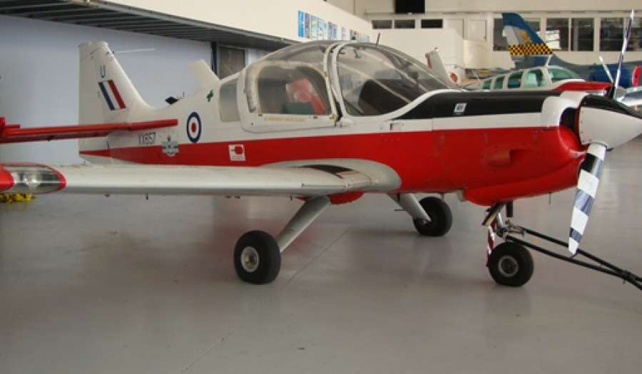 1974 SCOTTISH AVIATION BULLDOG T1 MK-1 ZK-WUF